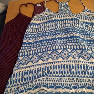 New cute racerback tank tops from old navy lot  Sm